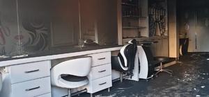 Türkeli'de bir dükkan yandı