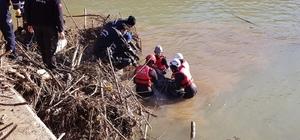Giresun'da dereye uçan aracın kayıp sürücüsünün cansız bedeni bulundu
