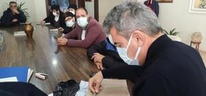 Avşa'da roman vatandaşlar için prefabrik ev