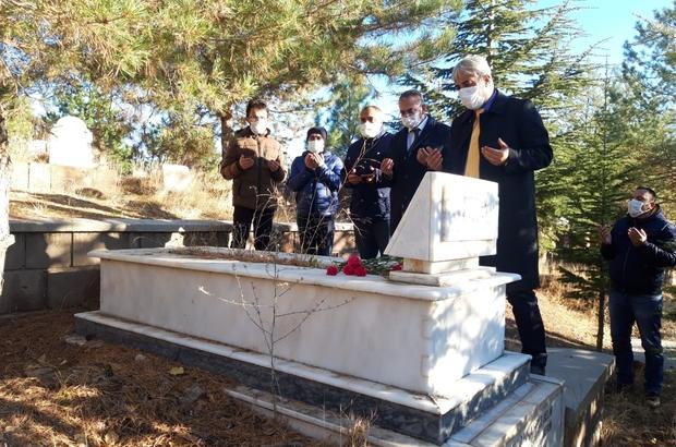 Ahlat'ta vefat etmiş öğretmenlerin kabirleri ziyaret edildi