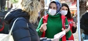 Karasu'da kadınlara şiddete karşı KADES tanıtıldı