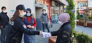 Türkeli'de KADES bilgilendirme broşürü dağıtıldı