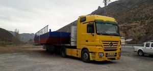 Baraj dubasının Trabzon'dan Adana'ya 750 km'lik zorlu yolculuğu