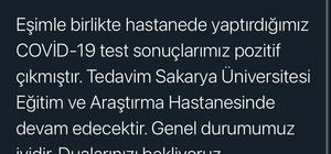 Hendek Belediye Başkanı Babaoğlu ve eşi korona virüse yakalandı Babaoğlu, sosyal medyadan duyurarak tedavi süreçlerinin hastanede devam edeceğini açıkladı