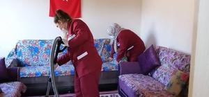 Feke'de yaşlılara sahip çıkılıyor