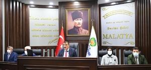 Malatya Büyükşehir Belediyesi kasım ayı meclis toplantıları sona erdi