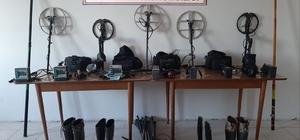 Çanakkale'de 17 defineci gözaltına alındı