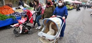 Bebek arabasından gelen sese anlam veremediler, gördükleri manzara ile şaşırdılar