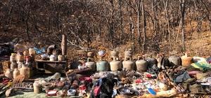 Bingöl'de teröristlere ait iki sığınak imha edildi