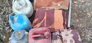Bingöl'de teröristlere ait iki odalı sığınak imha edildi