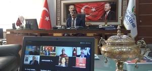 """Başkan Gürkan Afet Riski Azaltma ve Deprem toplantısında konuştu Gürkan: """"Elazığ depremini ve pandemi sürecini başarıyla yürüttük, yürütmeye de devam ediyoruz"""""""
