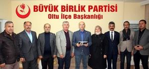 BBP Oltu ilçe teşkilatı istifa etti