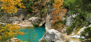 Yazılı Kanyon eşsiz güzelliği ile görsel şölen sunuyor 600 hektarlık alanda renk cümbüşü