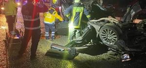 Takla otomobilden ağır yaralı kurtarılan adam hayatını kaybetti