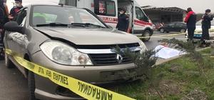 Düzce'de Ambulans otomobile çarptı: 1 ölü 2 yaralı