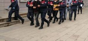 150 bin TL'lik dolandırıcılık yapan sahte jandarmalar adliyeye sevk edildi