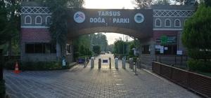 Tarsus Doğa Parkı ve barınaklar 6 Ocak'a kadar ziyarete kapatıldı