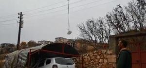 Diyarbakır polisinden görülmemiş hizmet: Kısıtlamada drone ile ilaç dağıtıldı
