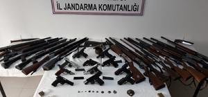 3 ilde silah kaçakçılarına yönelik operasyon: 19 gözaltı