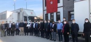 Kızılay'dan Başkan Öndeş'e teşekkür