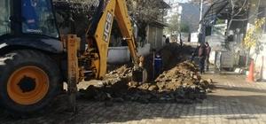 Aydın'ın altyapısı Büyükşehir'in çalışmalarıyla yenileniyor