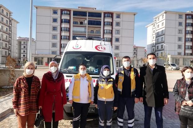 Suluovalı AK kadınlardan sağlıkçılara özel ikram
