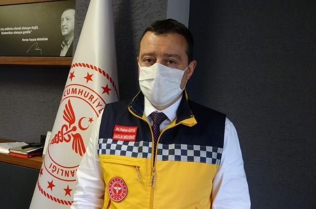 """Trabzon'da yoğun bakım doluluk oranı ürkütüyor Trabzon İl Sağlık Müdürü Dr. Hakan Usta: """"Şu anda yoğun bakımlarımız yüzde 90-95 oranında doluluk gösteriyor"""" """"Entübe vakalarımız oldukça fazla"""" """"Korona virüs vakalarında düşme olması bir rehavet anlamına gelmemeli"""""""
