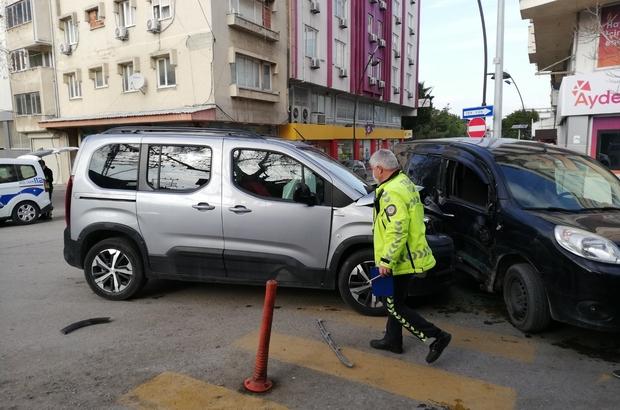 Kazaya karışan araç sürücüsü ve yolcuya kısıtlama ihlalinden ceza