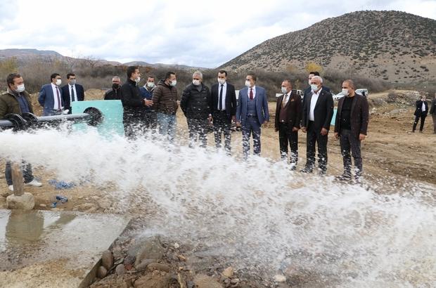 Su sıkıntısı yaşayan Alaşehir'e yeni sondajlarla çözüm Afşar Barajında su seviyesi düştü, MASKİ yeni sondajlarla çözüm üretti