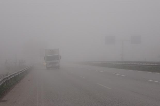 Kocaeli'de yoğun sis