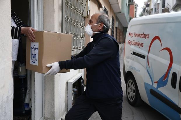 Konak'ta sosyal yardımlar ve dayanışmayı güçlendiren projeler örnek oldu