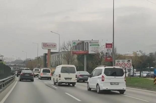 Bursa'da makas atan iki sürücü cezasız kalmadı