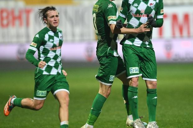 Bursaspor zoru başardı, 8 günde 11 gol attı