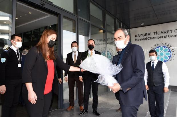 Koronayı yenen KTO Başkanı Ömer Gülsoy görevine başladı
