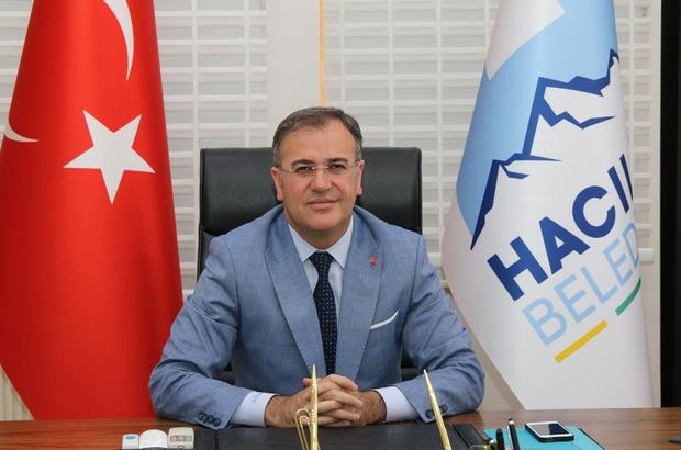 """Hacılar Kızıltepe Millet Bahçesi çalışmaları hızla sürüyor Başkan Özdoğan: """"Tamamen doğal bir seyir alanı inşa ediyoruz"""""""