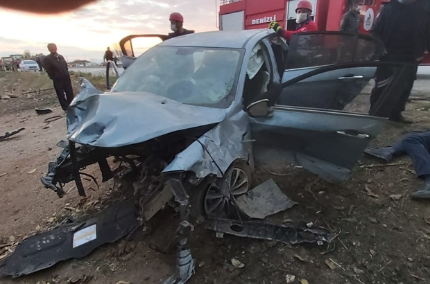 Denizli'de son 1 hafta içerisinde 86 trafik kazası meydana geldi