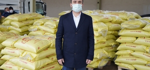Kestel Belediyesi'nden selzede çiftçilere gübre desteği Başkan Tanır, 23 ton gübreyi çiftçilere ulaştırdı
