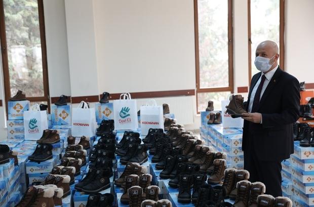 Başkan Çolakbayrakdar'dan ihtiyaç sahiplerine sıcacık destek
