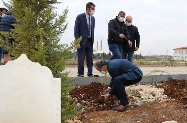 2020 Yılında vefat edenler adına ağaç dikiliyor
