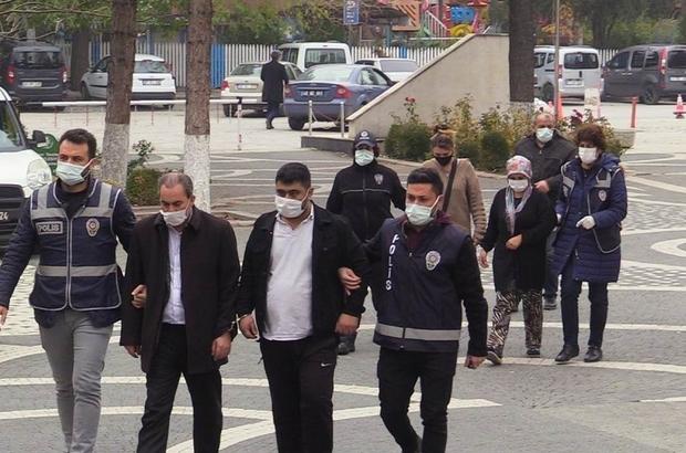 Konya'da 16 bin 554 adet uyuşturucu hapla yakalanan şüphelilerden 2'si tutuklandı