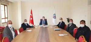 Kaymakam Pişkin başkanlığında KÖYDES toplantısı gerçekleştirildi