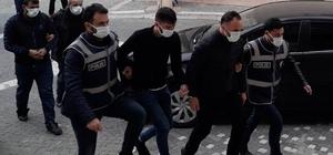 Konya'da maske dolandırıcıları polisten kaçamadı
