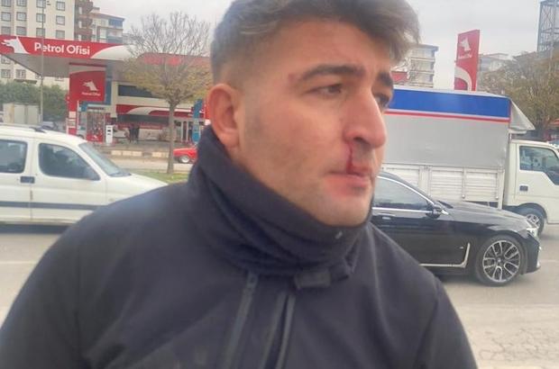 Zabıta ekiplerine sopalı bıçaklı saldırı:2 yaralı