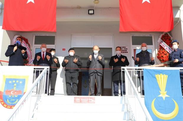 Manisa'da jandarma karakolu dualarla açıldı