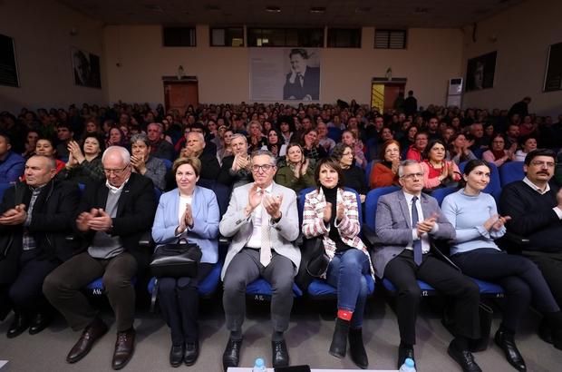 Gaziemir'de kültür sanat etkinliklerine pandemi arası