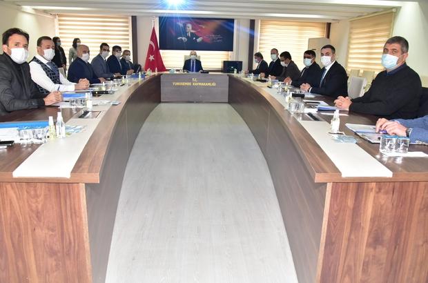 Muradiye OSB Müteşebbis Heyeti toplantısı yapıldı