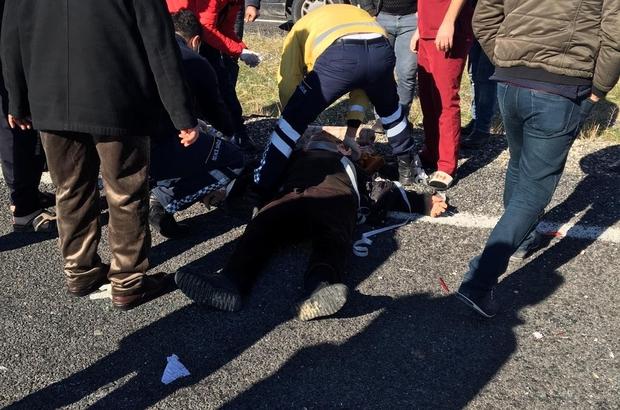 Diyarbakır'da feci kaza: 2'si ağır 4 yaralı