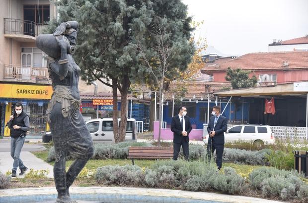 Alaşehir'de yeşil alanlara yönelik çalışma