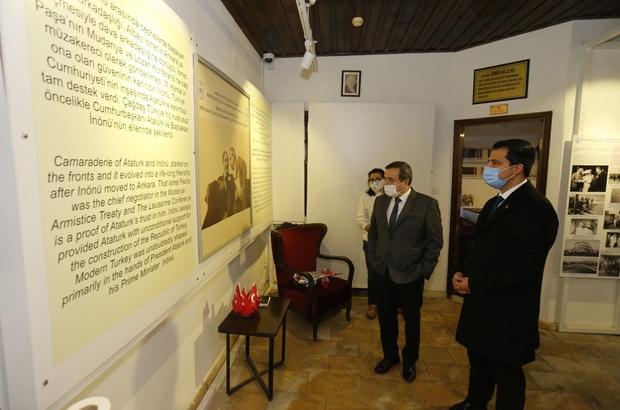 İsmet İnönü İzmir'deki evinde anıldı
