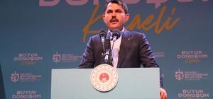 """Çevre ve Şehircilik Bakanı Kurum: """"Güçlü Türkiye'yi milletimizle birlikte inşa ediyoruz"""" """"Vatandaşımızın ev sahibi olacağı bir süreç başlatıyoruz"""" """"Biz her vatandaşımızın gönlünü kazanmayı öncelik sayan bir hareketin mensuplarıyız"""" """"Kocaeli'mize, toplamda yeni 2 bin 500 deprem dönüşüm konutumuzun müjdesini veriyoruz"""""""